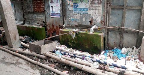 মদন গোবিন্দশ্রী বাজারে ঘর ভাঙ্গাকে কেন্দ্র করে পাল্টা মামলা